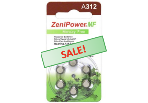 ZeniPower ZeniPower A312 – 20 blisters