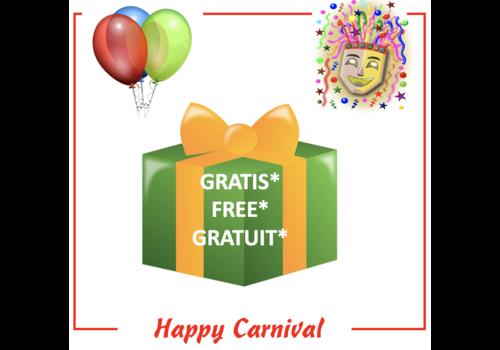 PowerOne Free* Carnival gift- max 1 per customer/order