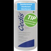 Lingette de nettoyage Cedis (90x) dans un distributeur pratique.