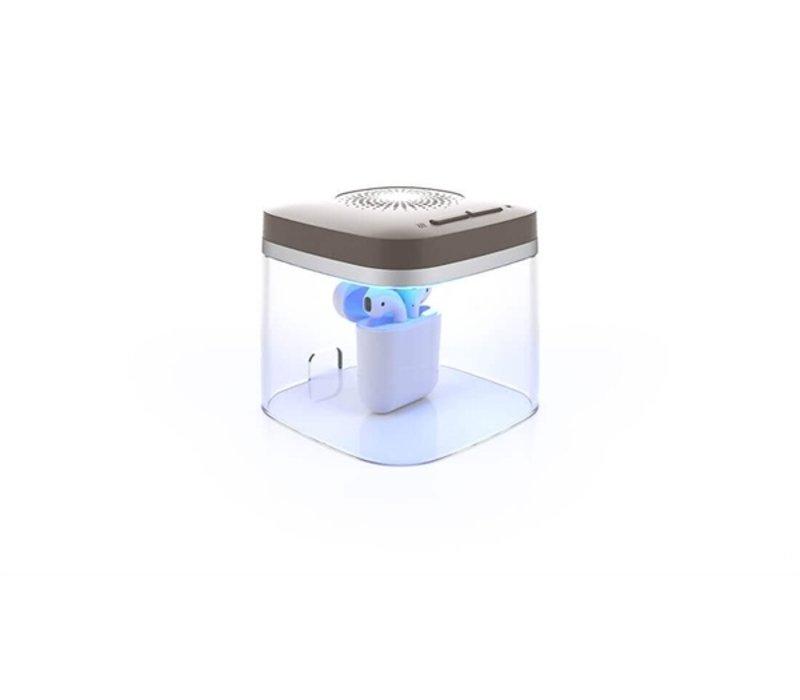 Flow Med Dry-Cap UV2 - Boîte Sèche pour aide auditive rechargeable