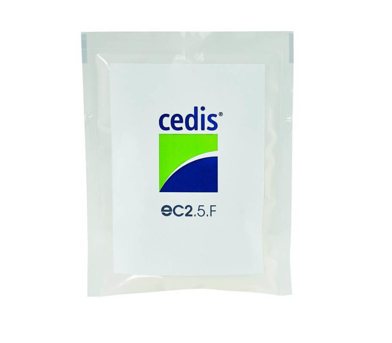 Cedis cleansing wipes (25x) refill pack for the compact sized dispenser