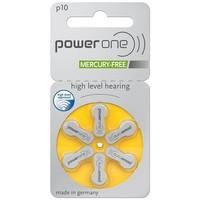 PowerOne p10 (PR70) - 30 pakjes (180 batterijen) met gratis batterijbox sleutelhanger