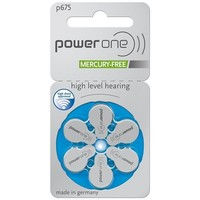 PowerOne p675 – 30 packs (180 batteries)  with free battery box key ring