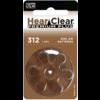 HearClear HearClear 312 (PR41) Premium Plus - 1 pakje (6 batterijen)