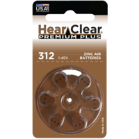 HearClear 312 (PR41) Premium Plus - 10 colis (60 piles)