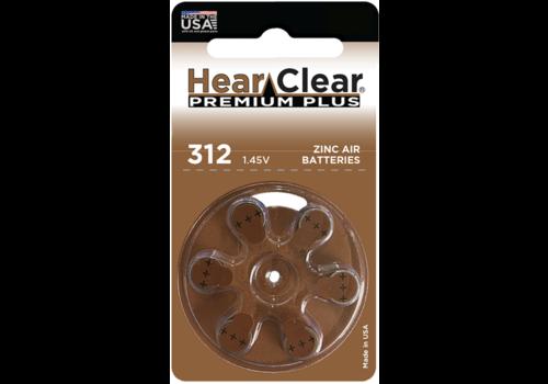 HearClear HearClear 312 Premium Plus – 10 blisters