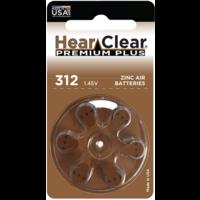 HearClear 312 (PR41) Premium Plus – 20 packs (120 batteries)