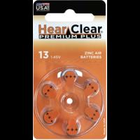 HearClear 13 (PR48) Premium Plus – 1 blister (6 batteries)