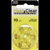 HearClear HearClear 10 (PR70) Premium Plus – 1 blister (6 batteries)
