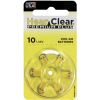 HearClear 10 (PR70) Premium Plus – 1 blister (6 batteries)