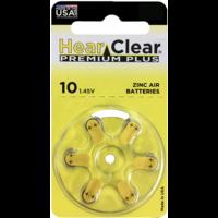 HearClear 10 (PR70) Premium Plus - 10 pakjes (60 batterijen)