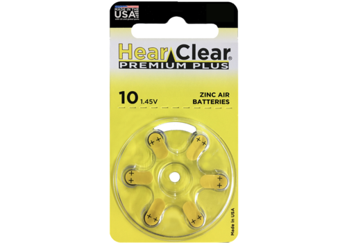 HearClear HearClear 10 Premium Plus - 10 pakjes