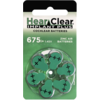HearClear HearClear 675i+ (PR44) Implant Plus - 1 blister (6 cochlear implant batteries)