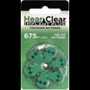 HearClear HearClear 675i+ (PR44) Implant Plus - 1 pakje (6 cochleair implantaat batterijen)