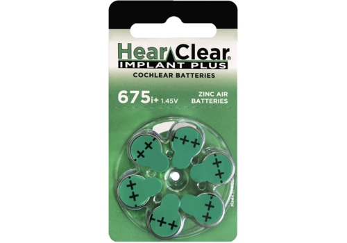 HearClear HearClear 675i+ Implant Plus - 1 pakje