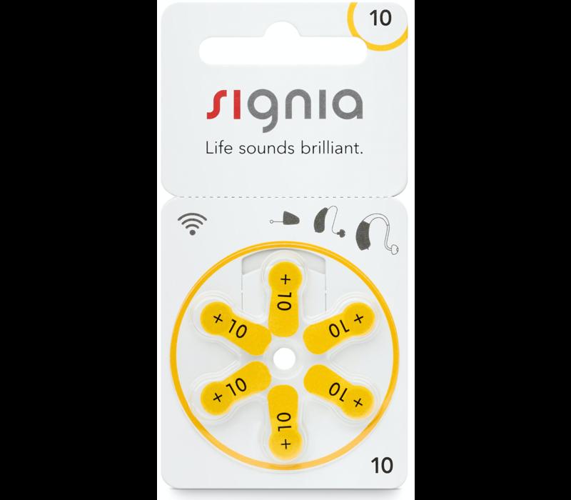 Siemens Signia 10 (PR70) – 20 blisters (120 batteries)