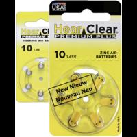HearClear 10 (PR70) Premium Plus - 10  colis (60 piles)