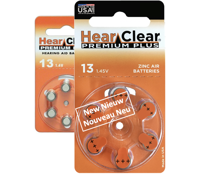 HearClear 13 (PR48) Premium Plus - 1 colis (piles)