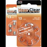 HearClear 13 (PR48) Premium Plus – 20 packs (120 batteries)