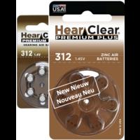 HearClear 312 (PR41) Premium Plus - 1 pakje (6 batterijen)