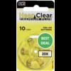 HearClear HearClear 10 (PR70) Premium Plus - 20 colis (120 piles)