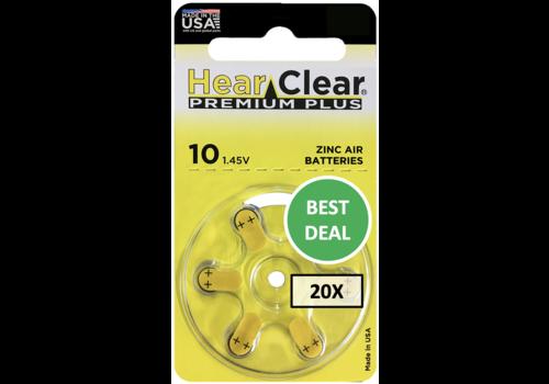 HearClear HearClear 10 Premium Plus – 20 blisters