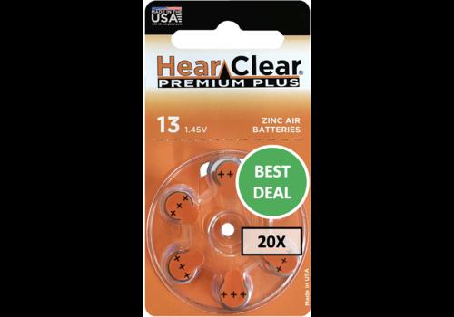 HearClear HearClear 13 Premium Plus – 20 blisters