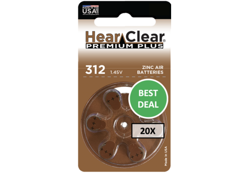 HearClear HearClear 312 Premium Plus - 20 pakjes