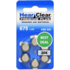HearClear HearClear 675 (PR44) Premium Plus - 20 colis (120 piles)
