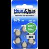 HearClear HearClear 675 (PR44) Premium Plus - 20 pakjes (120 batterijen)