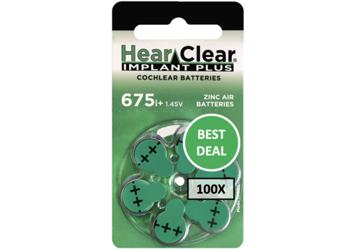 HearClear HearClear 675i+ Implant Plus - 100 blisters