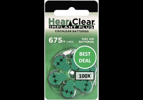 HearClear HearClear 675i+ Implant Plus - 100 colis TEMPORAIREMENT COMPLET
