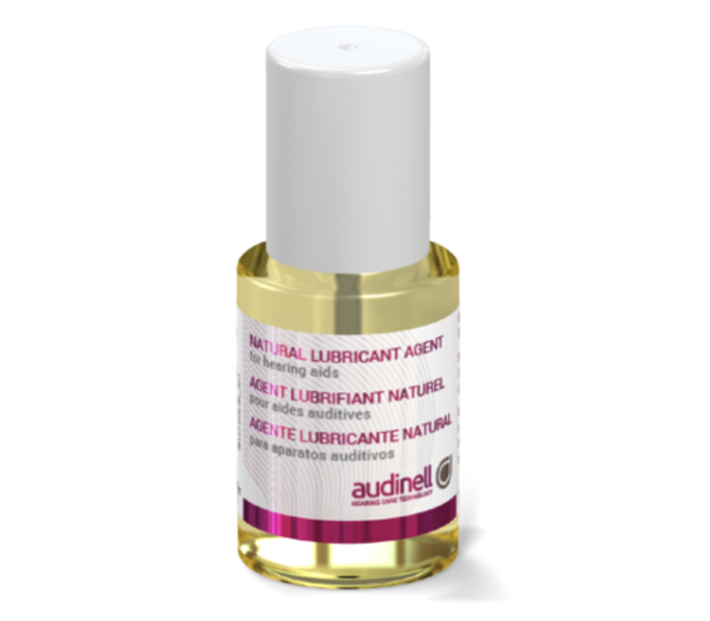Audinell natural oil (15ml) lubricant ear canal oil for hearing aids