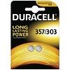 Duracell Duracell SR44 / V76PX / V357 / V303 oxyde d'argent (S) 1,55V Piles bouton - blister 2