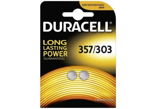 Duracell Duracell SR44 / V76PX / V357 / V303 zilveroxide - blister 2