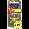 Rayovac Rayovac 10 (PR70) Extra Advanced - 20 pakjes (120 batterijen)