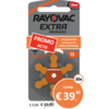 Rayovac Rayovac 13 (PR48) Extra Advanced – 20 blisters (120 batteries)