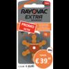 Rayovac Rayovac 13 (PR48) Extra Advanced - 20 pakjes (120 batterijen)