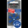 Rayovac Rayovac 675 (PR44) Extra Advanced – 20 blisters (120 batteries)