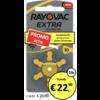 Rayovac Rayovac 10 (PR70) Extra Advanced - 10 colis (60 piles)