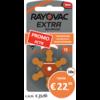 Rayovac Rayovac 13 (PR48) Extra Advanced – 10 packs (60 batteries)