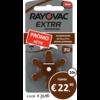 Rayovac Rayovac 312 (PR41) Extra Advanced - 10 colis (60 piles)