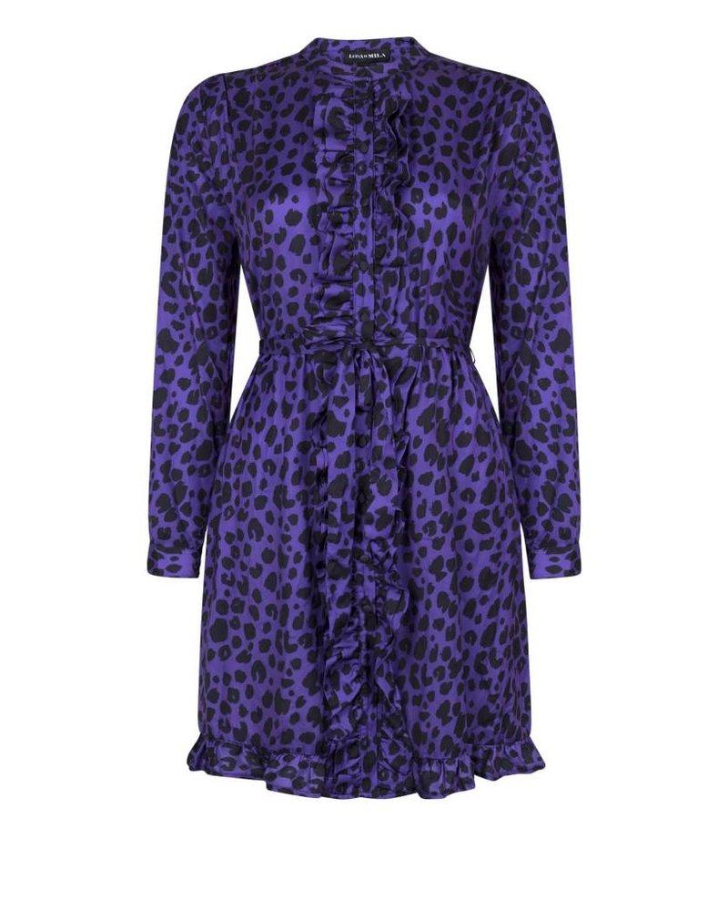 Luna Leopard Purple