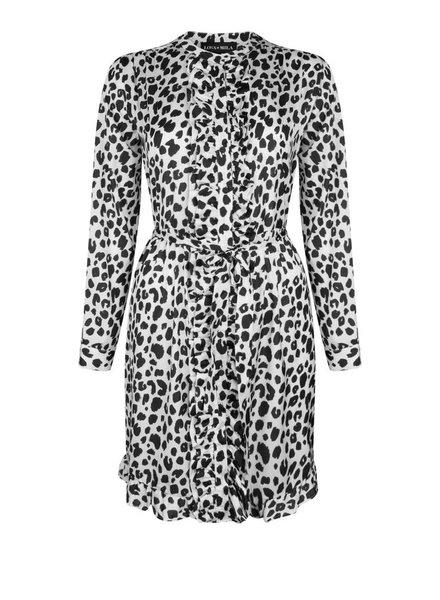 Luna Leopard Blanc