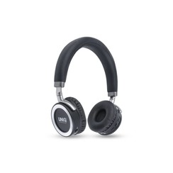 UNIQ Surround Extra Bass Wireless koptelefoon - Zwart - Zilver