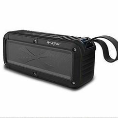 W-KING S20 Waterproof Bluetooth speaker - Zwart