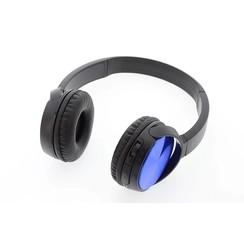 Koptelefoon Blauw Wireless Bluetooth headset (8719273237366 )