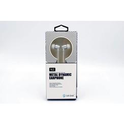 Earphone Metal Bass White Celebrat (8719273225851)