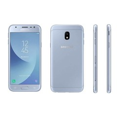 Samsung Galaxy J3 (2017) - Blauw Silver (8719273144930 )