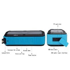 W-KING S20 Waterproof Bluetooth speaker - Blauw